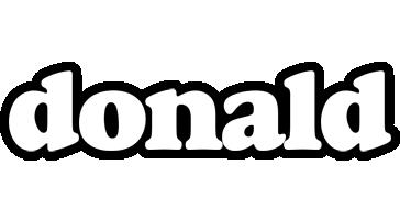 Donald panda logo