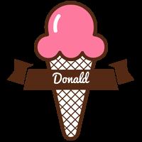 Donald premium logo