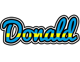 Donald sweden logo