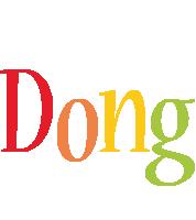 Dong birthday logo