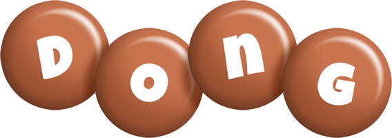 Dong candy-brown logo