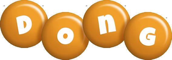 Dong candy-orange logo