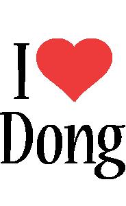Dong i-love logo