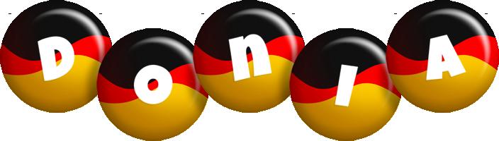 Donia german logo
