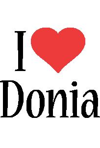 Donia i-love logo