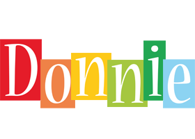 Donnie colors logo