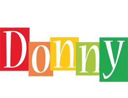 Donny colors logo