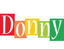 Donny colors logo