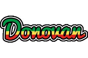 Donovan african logo