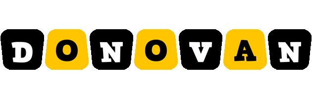 Donovan boots logo