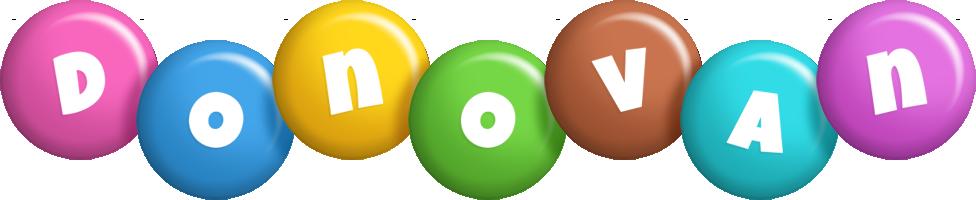 Donovan candy logo
