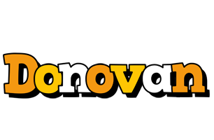 Donovan cartoon logo