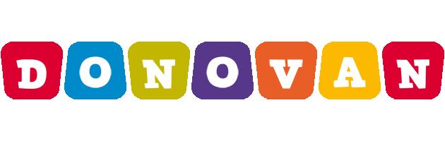 Donovan daycare logo