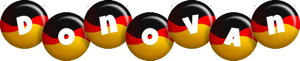 Donovan german logo