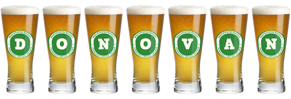 Donovan lager logo