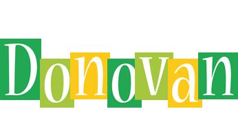 Donovan lemonade logo