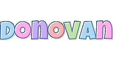 Donovan pastel logo