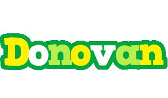Donovan soccer logo