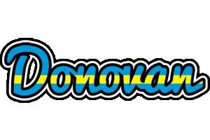 Donovan sweden logo