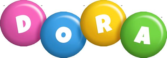 Dora candy logo