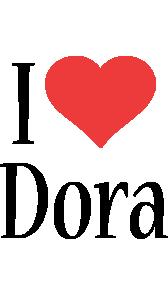 Dora i-love logo