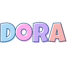 Dora pastel logo