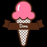 Dora premium logo