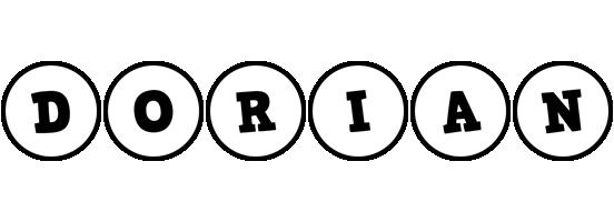 Dorian handy logo
