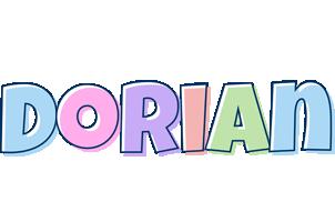 Dorian pastel logo