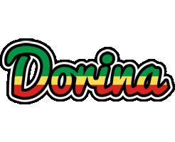 Dorina african logo