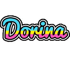 Dorina circus logo
