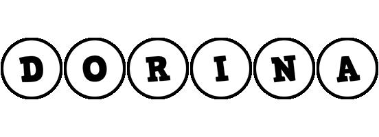 Dorina handy logo