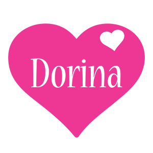 Dorina love-heart logo
