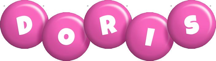 Doris candy-pink logo