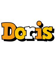 Doris cartoon logo