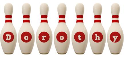 Dorothy bowling-pin logo