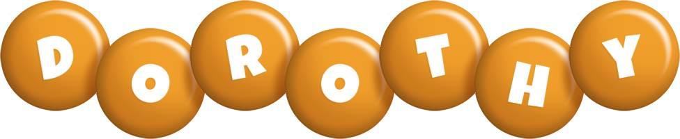 Dorothy candy-orange logo