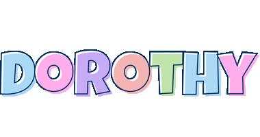 Dorothy pastel logo