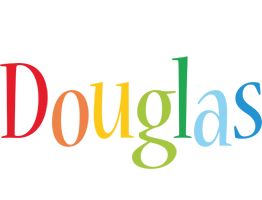 Douglas birthday logo