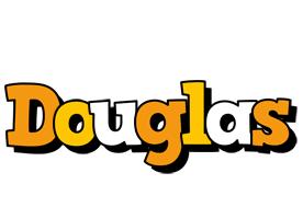 Douglas cartoon logo