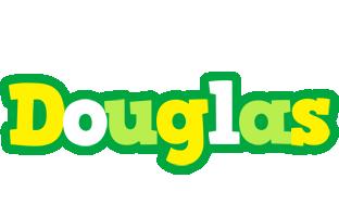 Douglas soccer logo