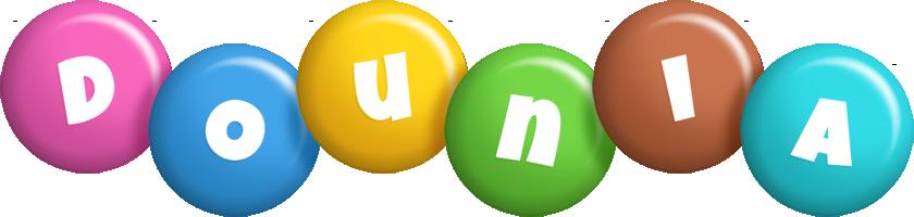 Dounia candy logo