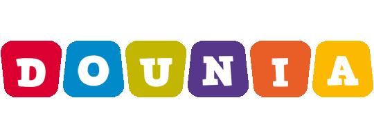 Dounia daycare logo