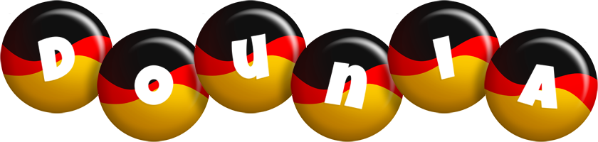 Dounia german logo