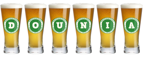 Dounia lager logo