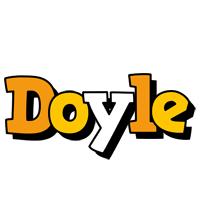 Doyle cartoon logo