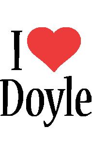 Doyle i-love logo
