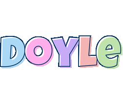 Doyle pastel logo