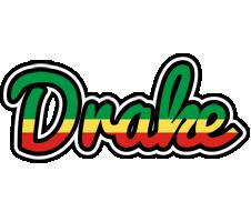 Drake african logo