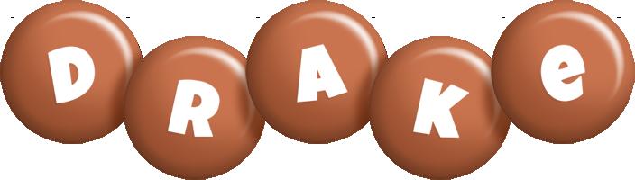 Drake candy-brown logo